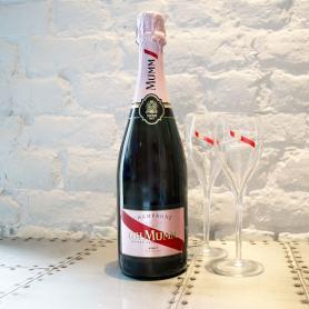 Btle de Champagne Mumm Millésimé ou Rosé