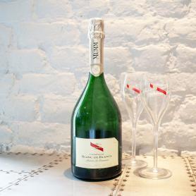 Btle de Champagne Mumm Blanc de Blancs